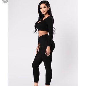🖤Fashion Nova Black WonderLust Set XS🖤